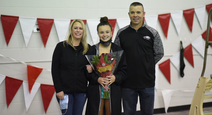 Diving Senior Night