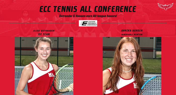 Girls Tennis All ECC