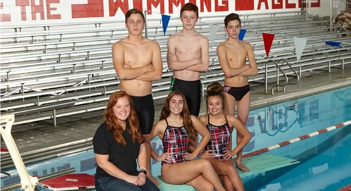 2017-18 Diving Team